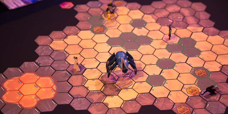 Sentinel Tactics Game Board
